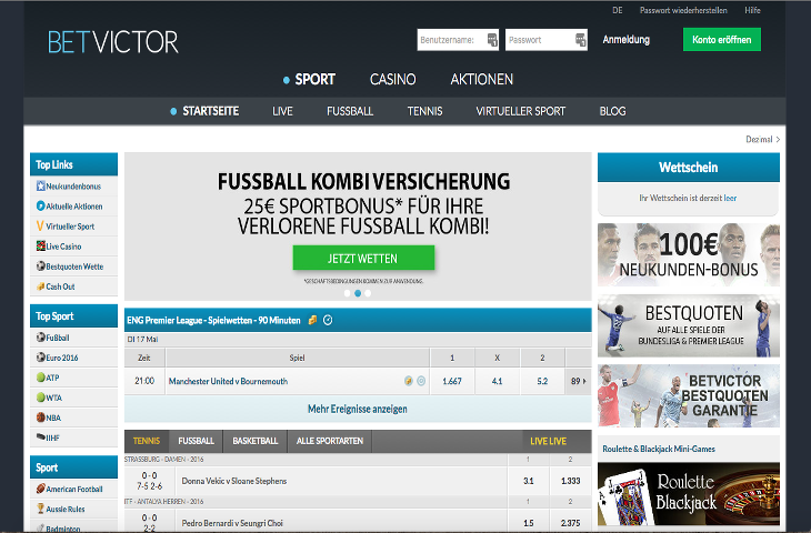BetVictor_Sportwetten
