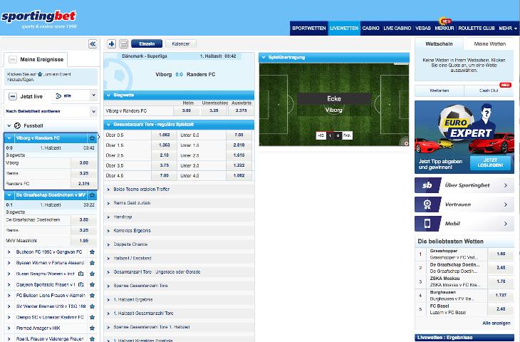 Sportingbet_Livewetten